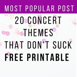 20 concert themes that don't suck wellfedmusiced.weebly.com